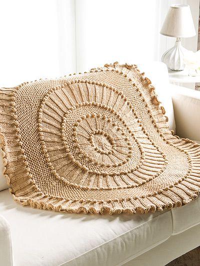 Lapghan Knitting Pattern : Matelasse Lapghan Knit Pattern Knitting Pinterest Unique, Yarns and Design