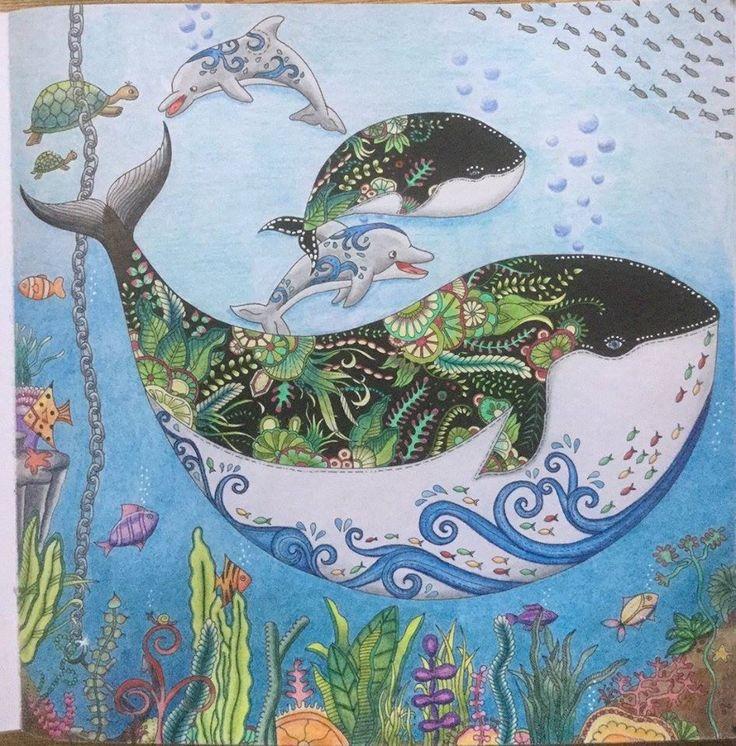 Lost Ocean Johanna Basford Joanna BasfordColoring Book