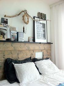 peppermags: Interior: Modern Rustic Bedroom