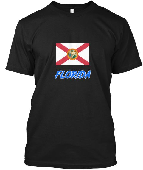 Florida Flag Artistic Blue Design Black T-Shirt Front - This is the perfect gift for someone who loves Florida. Thank you for visiting my page (Related terms: I Heart Florida,Florida,Florida,Florida Travel,I Love My Country,Florida Flag, Florida Map,Florida L #Florida, #Floridashirts...)