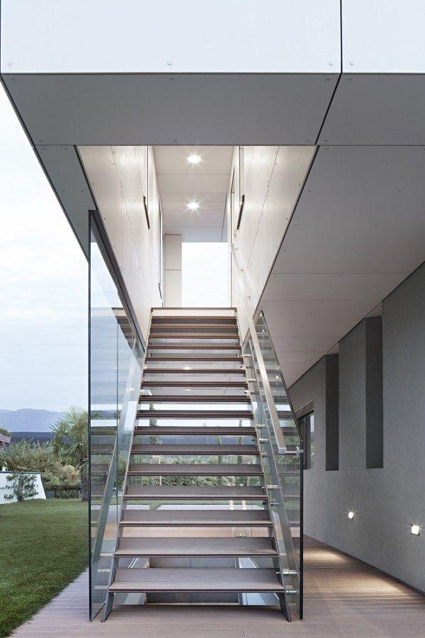 0010 Planos de casa moderna modelo 2013 con iluminación perfecta sostenible verdadera elegancia Italiana