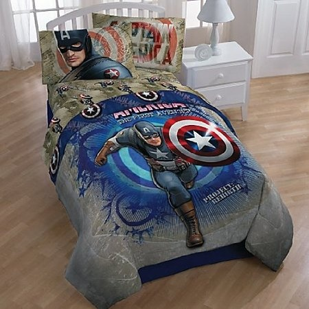 54 best images about will 39 s captain america room on for Captain america bedroom ideas