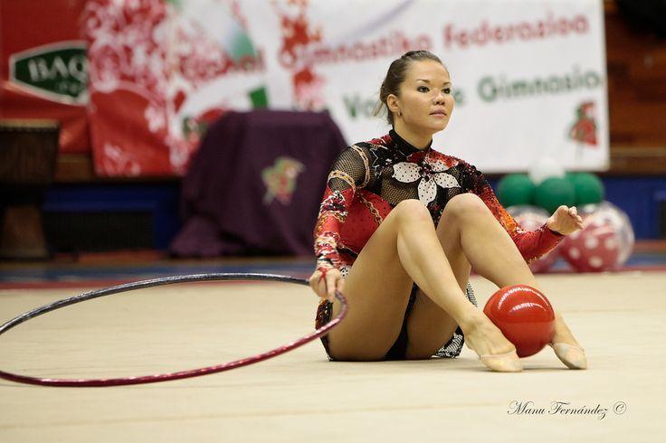 Dinara GIMATOVA (AZE) Ball Hoop