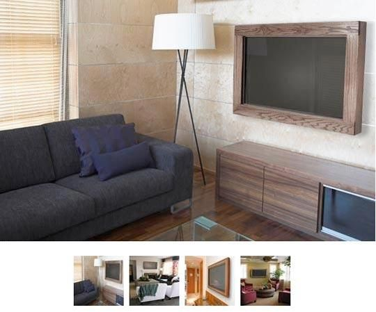 best 20 tv frames ideas on pinterest. Black Bedroom Furniture Sets. Home Design Ideas