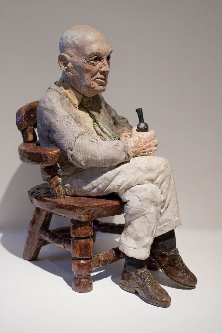 Joe Fafard, 'George' at Mayberry Fine Art