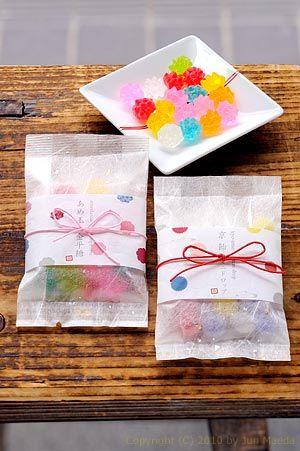 Konpeitou shaped hard candy