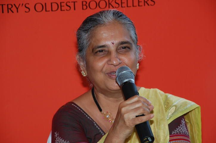 15+ Top Indian Women Authors Whose Books Should Be On Your Summer Reading List - Sudha Murthy