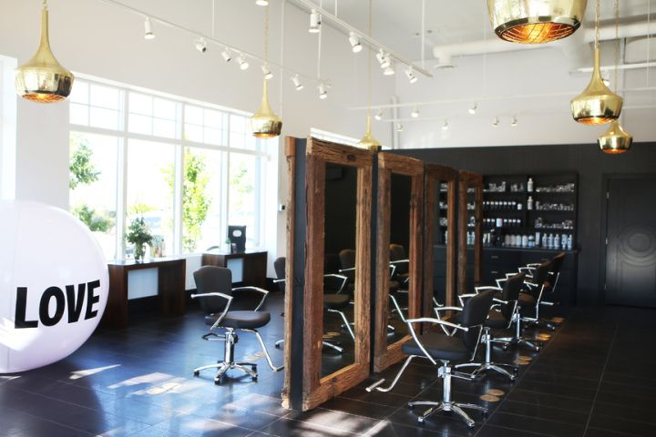 / Mod Salon by LBV Design&Décor, Kelowna   Canada hairdresser /
