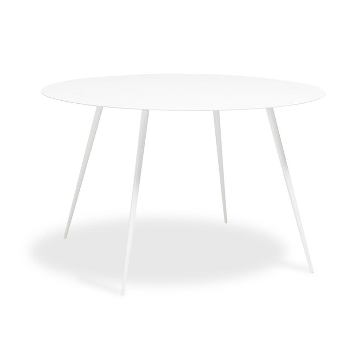 Pulp White Round Table