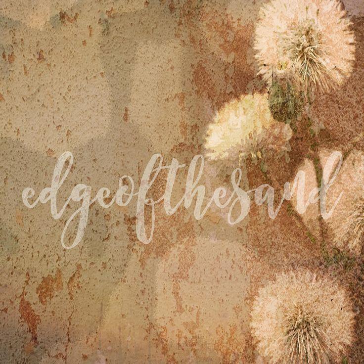 digital download dandelion wild flower grunge painting scrapbooking floral flower weed background art paper craft by edgeofthesand on Etsy