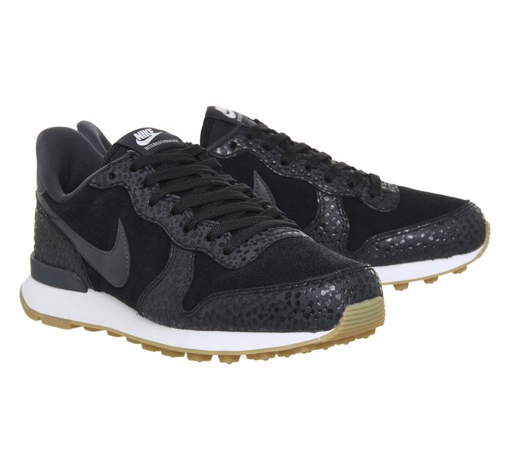 Buy Black Anthracite Safari Pack Nike Nike Internationalist (w) from OFFICE.co.uk.
