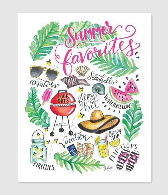 Summer Favorites - Print                                                                                                                                                                                 Más