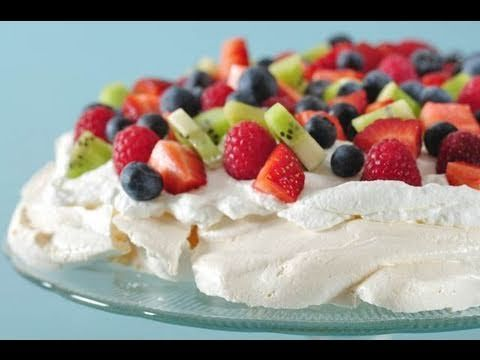 This is Pavlova and is super yummy