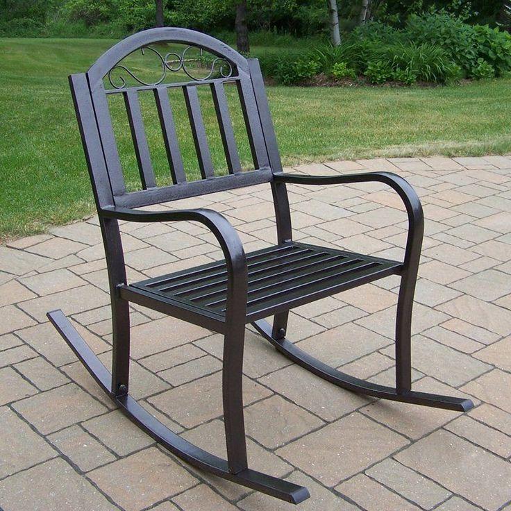 Oakland Living Rochester Outdoor Rocking Chair - 6124-