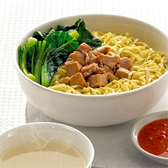 Mie Ayam......loveeeee.... Chicken Noodle