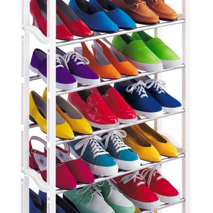 Органайзер для обуви, органайзер для хранения обуви, Органайзер для обуви на 30 пар Amazing shoe rack, органайзер для обуви amazing shoe rack,