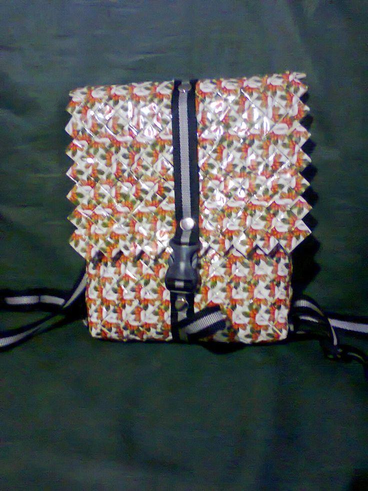 Gallery Daur Ulang:   Anyaman model mini ransel