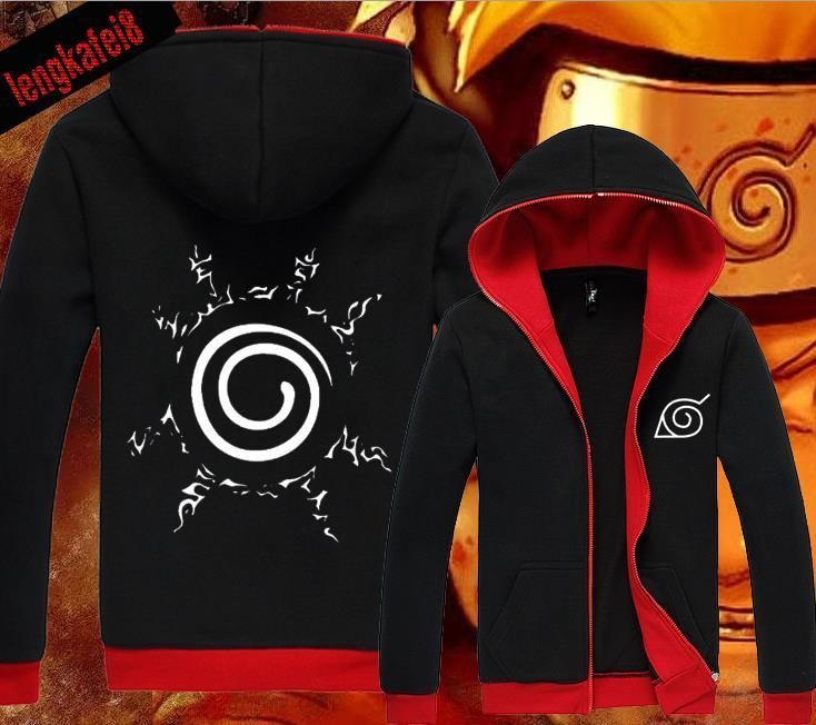 Anime Naruto UZUMAKI NARUTO Clothing Hooded Sweatshirt Jacket Cosplay Hoodie