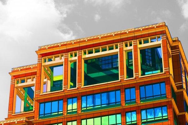 'Canary Wharf Edit One', 2010. (ryanjhughes).