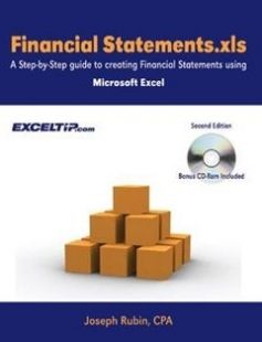 Financial Statements.xls: A Step-by-Step guide to Creating Financial Statements Using Microsoft Excel Second Edition free download by Joseph Rubin CPA ISBN: 9780974636849 with BooksBob. Fast and free eBooks download.  The post Financial Statements.xls: A Step-by-Step guide to Creating Financial Statements Using Microsoft Excel Second Edition Free Download appeared first on Booksbob.com.