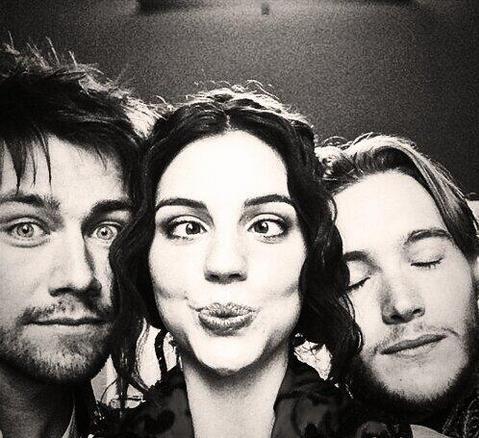 Torrance Coombs, Adelaide Kane & Toby Regbo