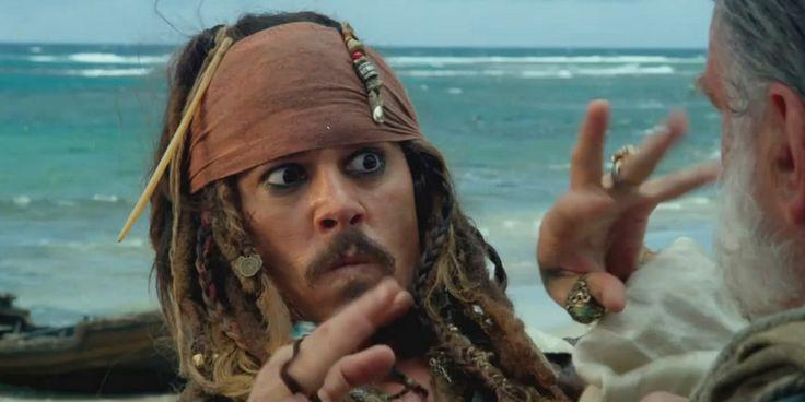 Es hora de jugar con algunas de las geniales expresiones del Capitán Jack Sparrow.