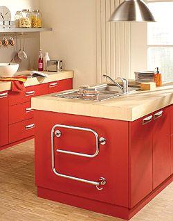 Purmo Lamu E - electric radiator in the kitchen / grzejnik elektryczny w kuchni