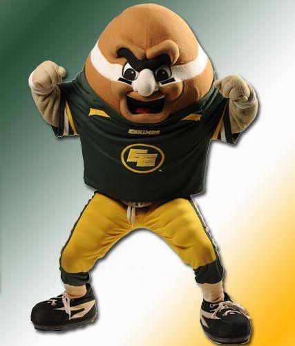 Punter the Mascot | Edmonton Eskimos