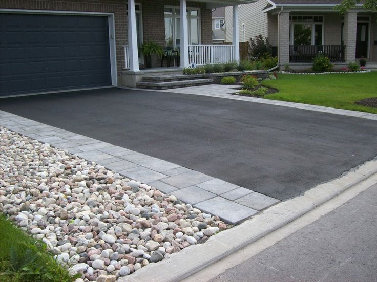 steps interlock driveways landscaping stittsville kanata green with envy landscaping design - Driveway Design Ideas