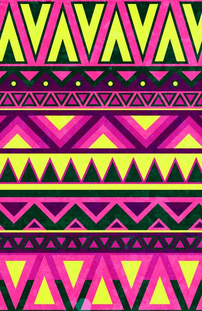 Hippie Chic Pattern Art Print
