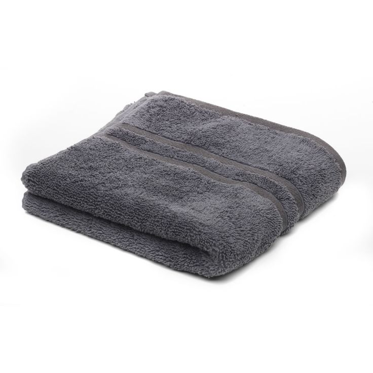 Wilkinson Hand Towel Charcoal 50cmx90cm | Hand Towels | | Towels from Wilkinson Plus £5