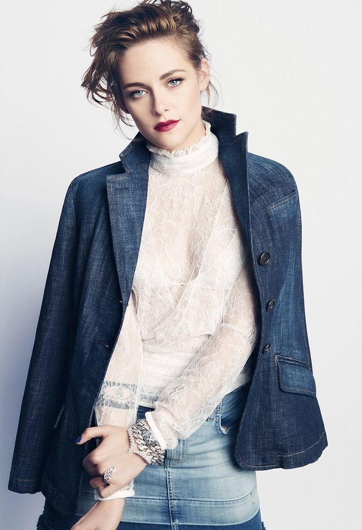 Kristen Stewart for Marie Claire US August 2015