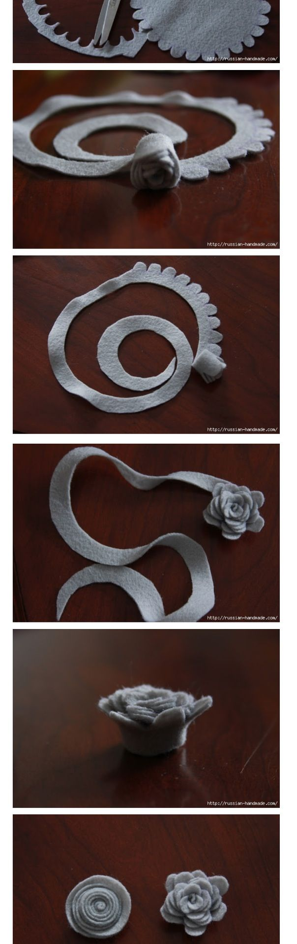 Keçe çiçek1