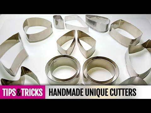 Tips&Tricks How to make unique cutters for polymer clay! Detailed Video Tutorial - YouTube