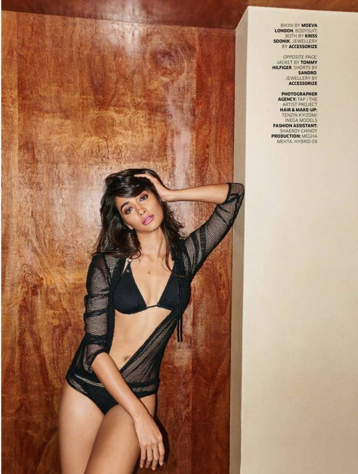 Pooja Hedge Super Smoking Hot & Spicy Scans In Bra & Panty From GQ Nov 2016...
