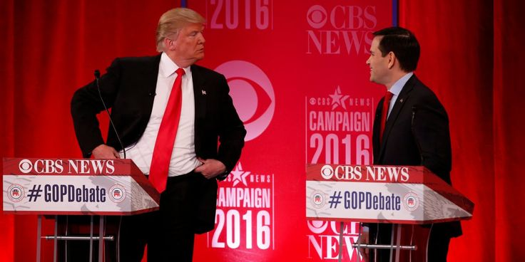 TRUMP: Rubio should drop out...