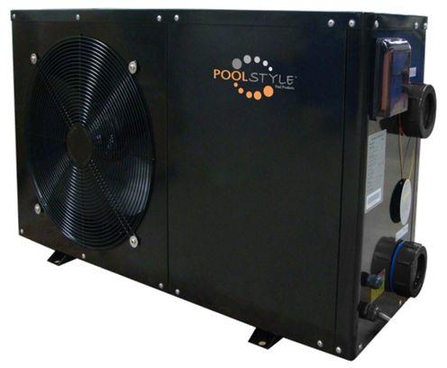 POMPE A CHALEUR POOLSTYLE -- Pompe à chaleur air/eau monophasé réversible -- Dégivrage automatique,  Ecran LCD avec commande à fil, Pour piscine de 15 m3 à 65 m3