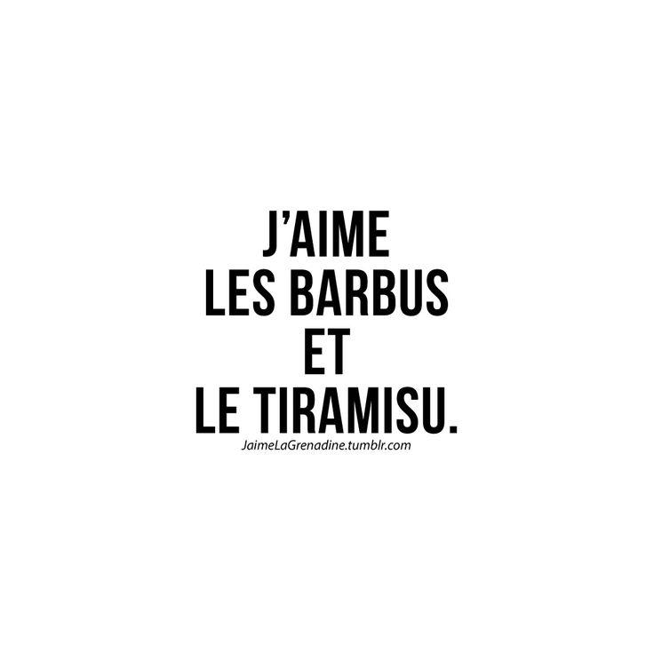 J'aime les barbus et le tiramisu - #JaimeLaGrenadine >>> https://www.facebook.com/ilovegrenadine >>> https://instagram.com/jaimelagrenadine_off