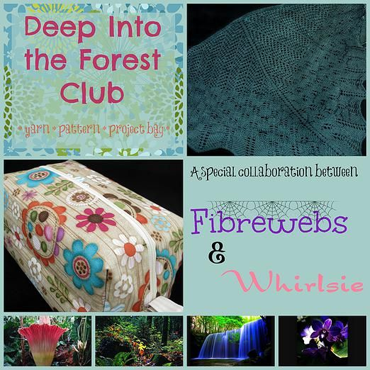 Whirlsie's Designs | Deep Into the Forest Yarn Club