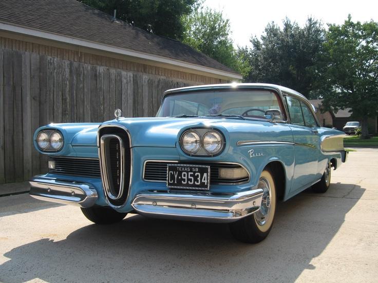 Best Edsel Automobiles Images On Pinterest Vintage Cars