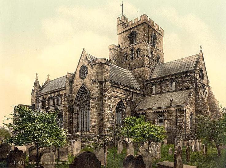 England, Cumbria, Carlisle Cathedral