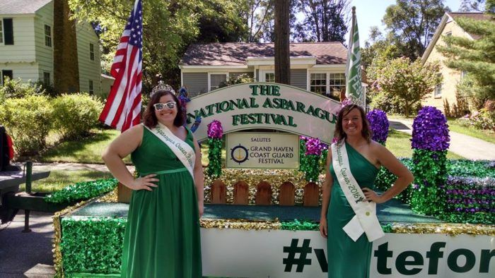 National Asparagus Festival (Oceana County, second weekend in June)