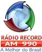 Ouvir a Rádio Record AM 990 do Rio de Janeiro Ao Vivo e Online