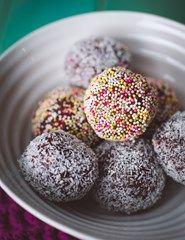 Romkugler med Rigoni Chococreme