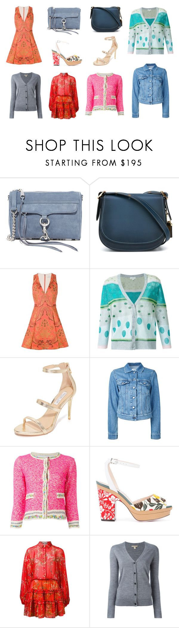 """""""spring fashion"""" by kristen-stewart-2989 ❤ liked on Polyvore featuring Rebecca Minkoff, Coach, Alice + Olivia, Delpozo, Rachel Zoe, Closed, 20.52, Fendi, Alexis and Burberry"""