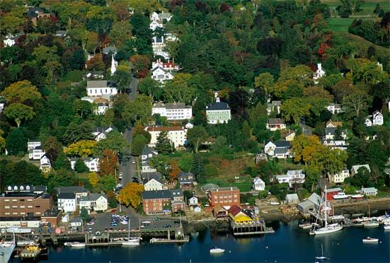 """the town of Castine, Maine on Penobscot Bay. When I was 15, I read an article in the now defunct Signature magazine that described the town and all its attributes...the article ended by saying that ...""""Castine just may be the prettiest town in America.""""  I have wanted to go there ever since! One day..."""