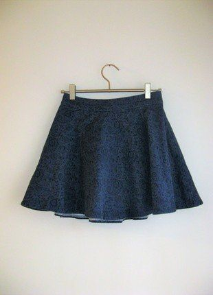 Kup mój przedmiot na #vintedpl http://www.vinted.pl/damska-odziez/spodnice/17389360-jeansowa-spodniczka-rozkloszowana-denim-co-blogerska