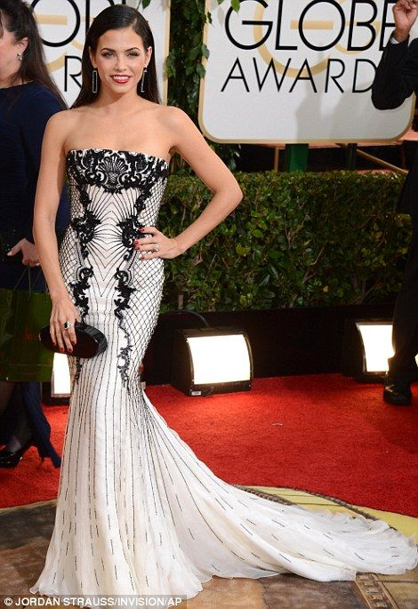 Jenna Dewan-Tatum at 2014 Golden Globes