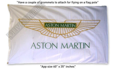 $16.99 - Worldwide FREE Shipping!	  New ASTON MARTIN 3x5 feet flag banner for your garage!
