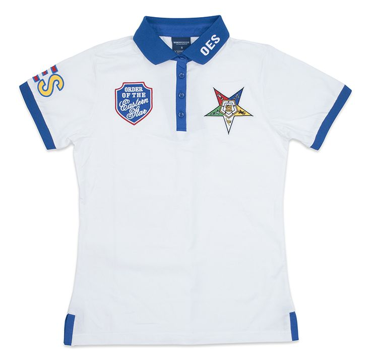 260 best order of eastern star images on pinterest for Order custom polo shirts